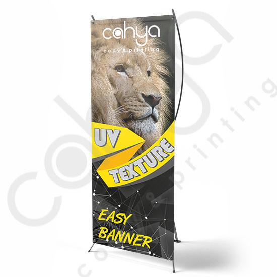 X Banner Easy Banner 180 cm x 80 cm Texture