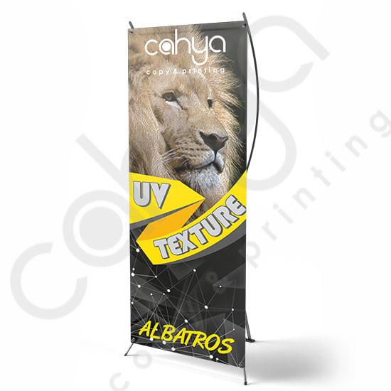 X Banner Albatros 180 cm x 80 cm Texture