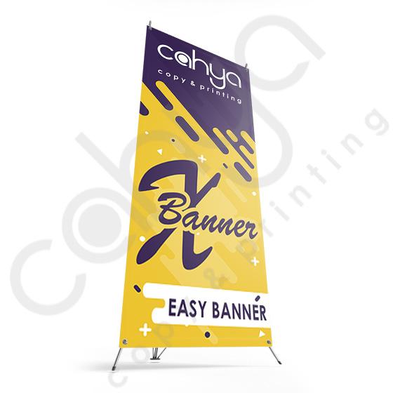 X Banner Luster 160 cm x 60 cm