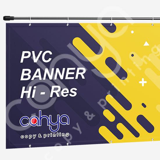 Cetak PVC Banner Hi Res