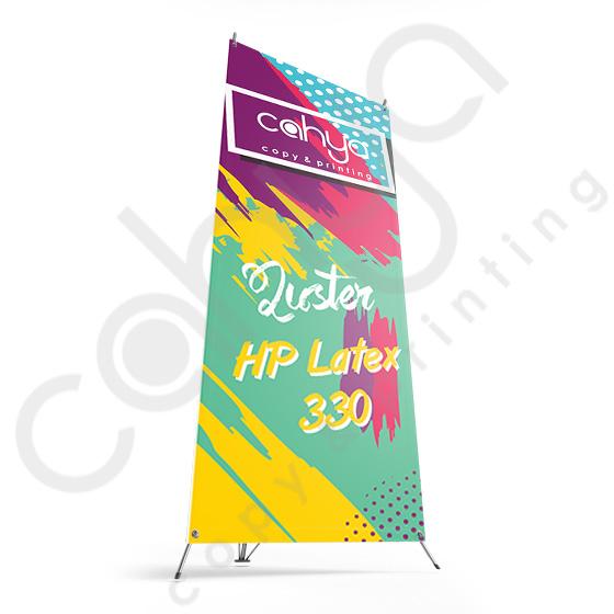 X Banner Luster 180 cm x 80 cm HP Latex 330