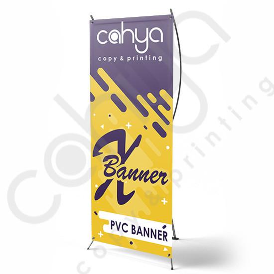 X Banner PVC Banner 160 cm x 60 cm