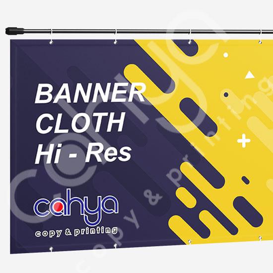 Cetak Banner Cloth Hi Res