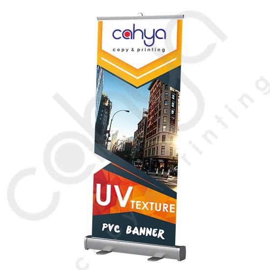 Roll Up PVC Banner 160 cm x 60 cm Texture