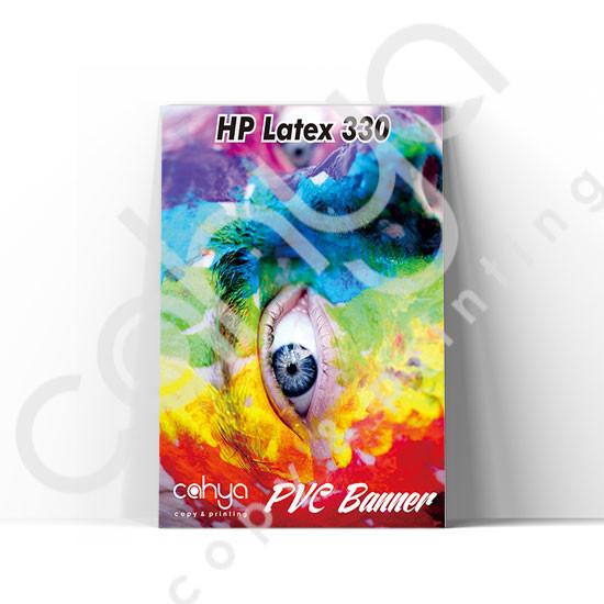 Cetak PVC Banner HP Latex 330