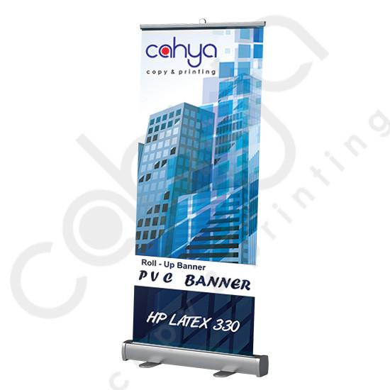 Roll Up PVC Banner 160 cm x 60 cm HP Latex 330