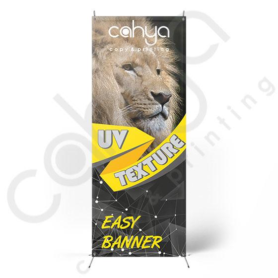 X Banner Easy Banner 160 cm x 60 cm Texture