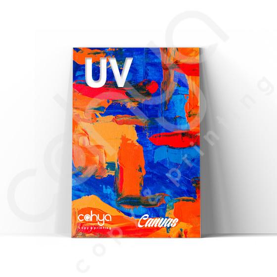 Cetak Indoor UV Texture